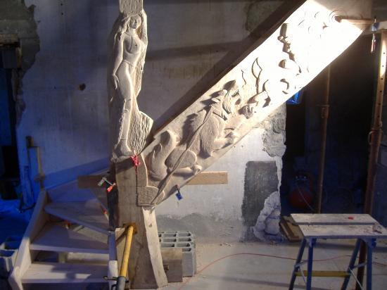 Escalier Scandinave